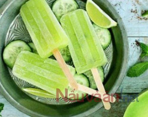 5 bước để có món kem đậu xanh nước cốt dừa thơm ngon, mát lạnh