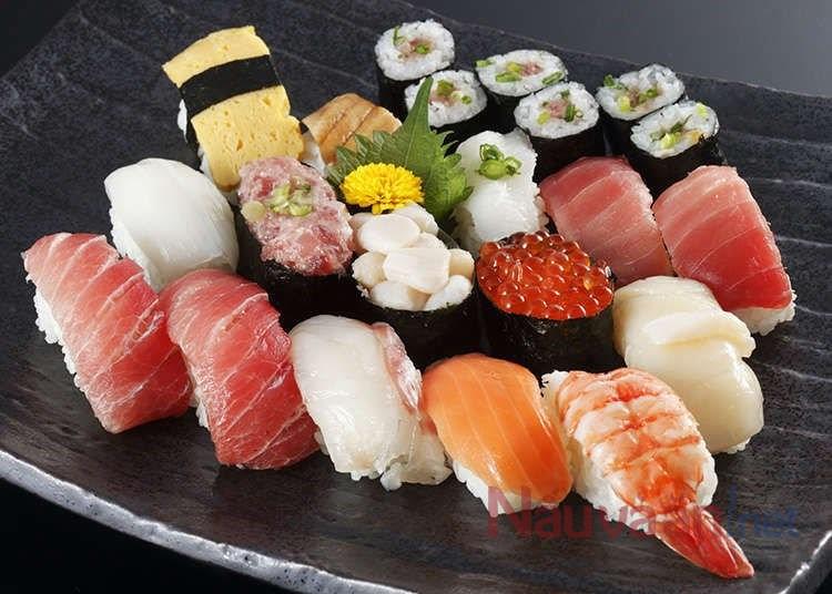 Cách ăn sushi chuẩn của người Nhật, nhiều người ăn sai mà không biết