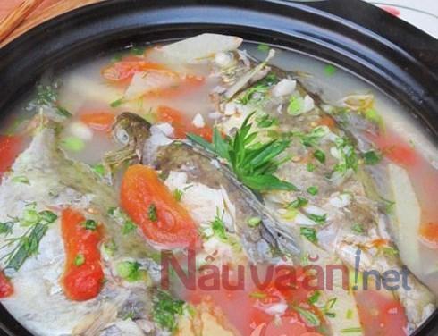 cá nấu