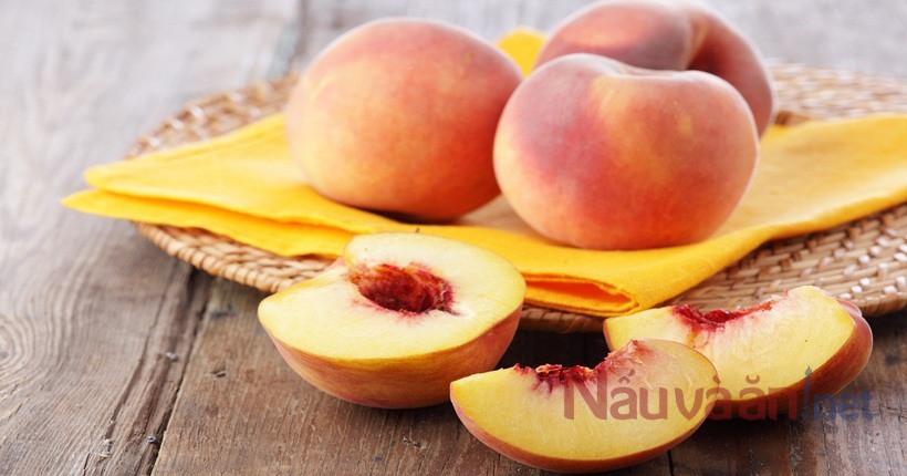 Những lợi ích tuyệt vời của quả đào với sức khỏe