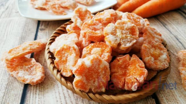 sên mứt cà rốt