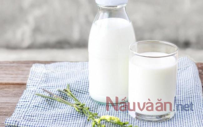 sữa tốt cho bữa sáng