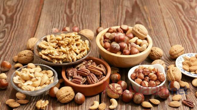 các loại hạt dinh dưỡng cho bữa sáng
