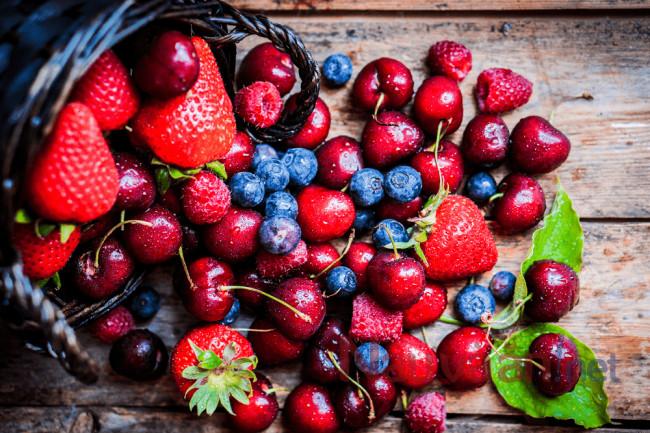 các loại quả mọng tốt cho bữa sáng