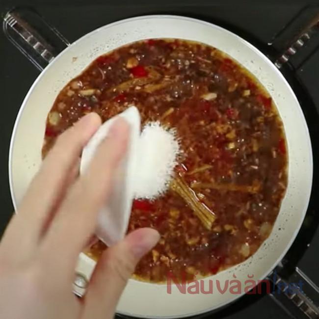 làm nước sốt chấm sò