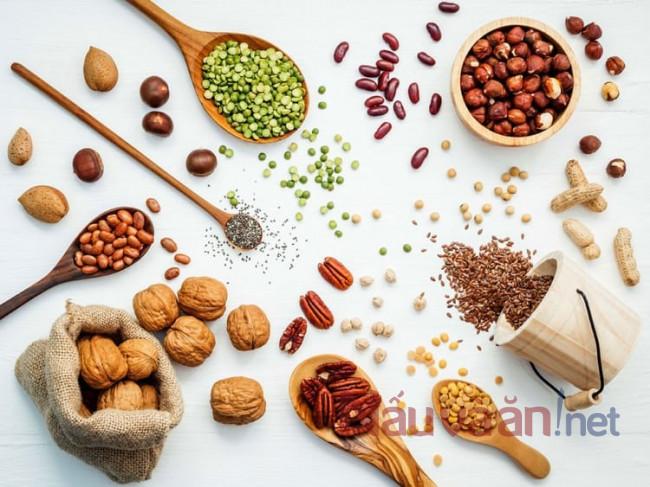 Các loại hạt dinh dưỡng