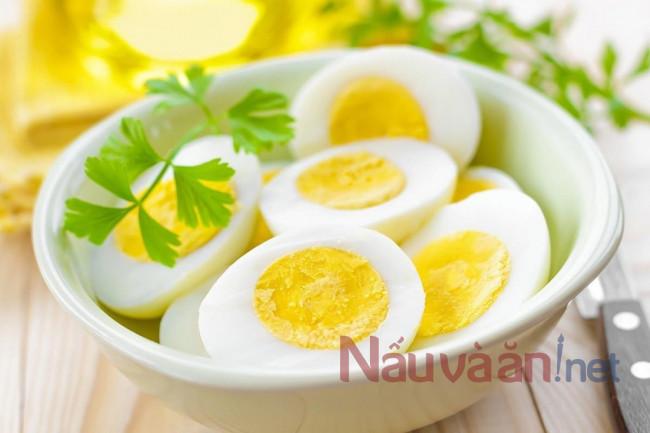 Trứng tốt cho não bộ