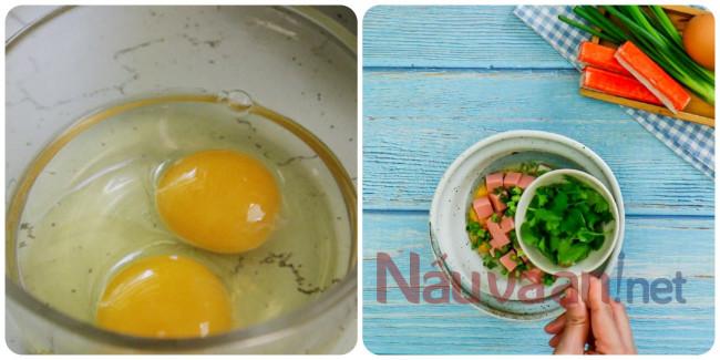 làm sốt trứng