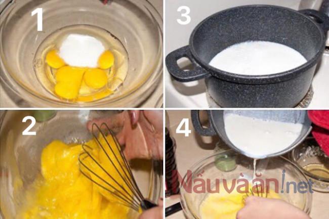 Các bước làm bánh