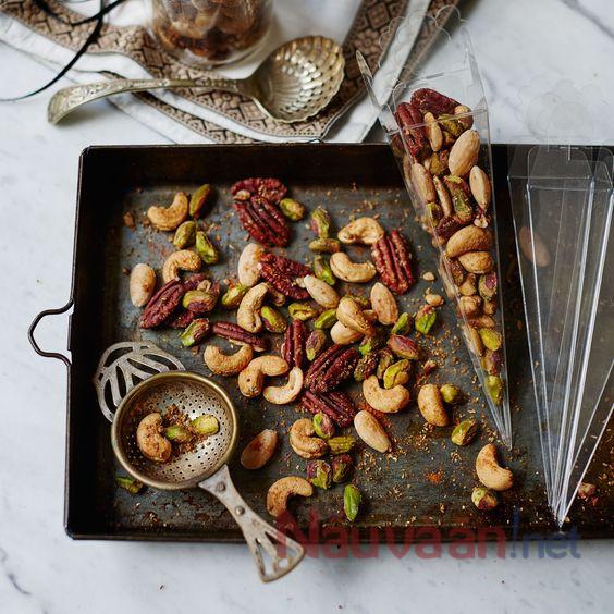 nướng các loại hạt