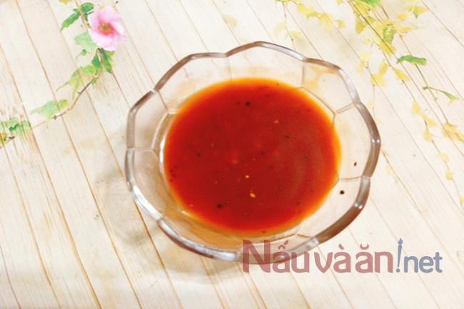 Bạch tuộc xào sốt chua ngọt