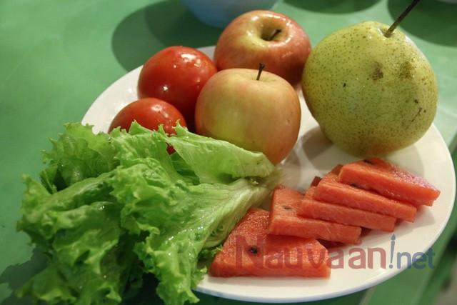 Cách làm salad hoa quả