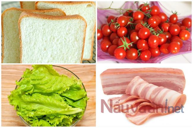 nguyên liệu làm salad kiểu ý
