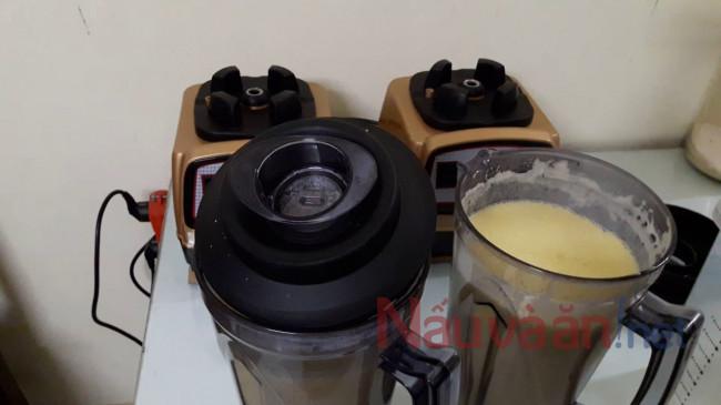 Làm sữ angoo bằng máy làm sữa hạt