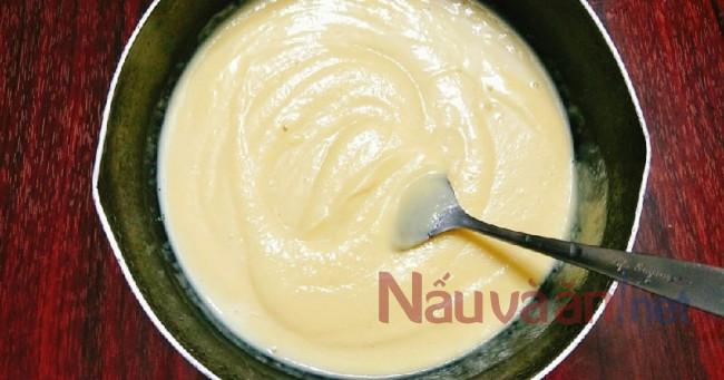 xay hỗn hợp sầu riêng sữa