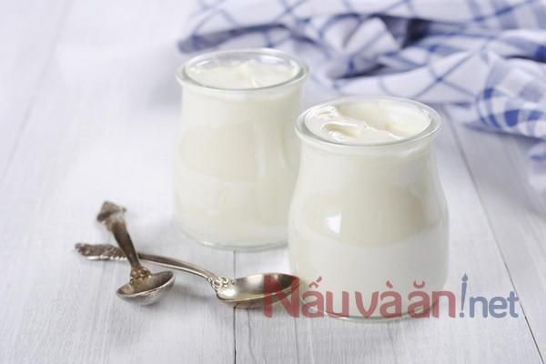Công dụng của sữa chua nếp cẩm