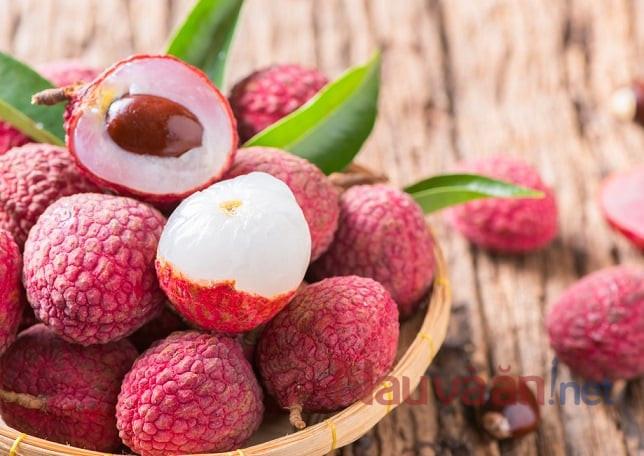 giá trị dinh dưỡng của trái vải