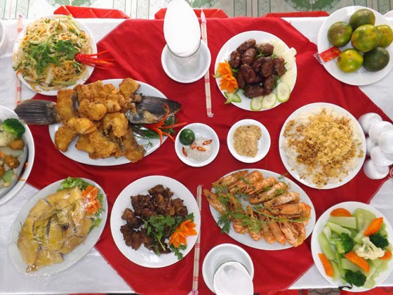 thực đơn tiệc cưới menu 2