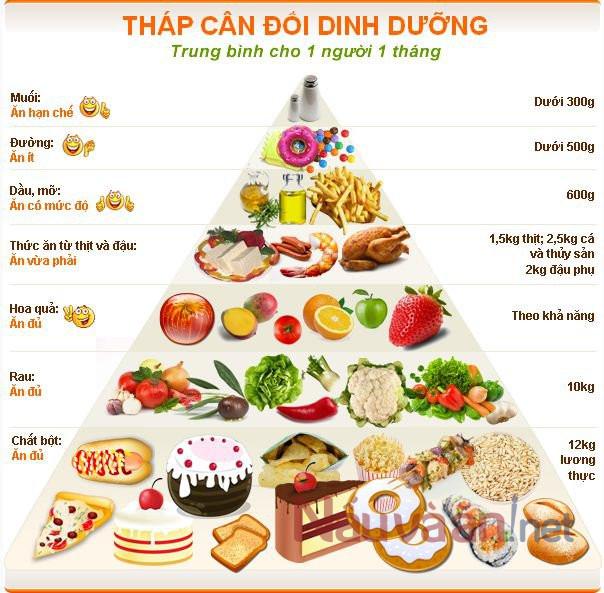 Tháp cân Đôi dinh dưỡng